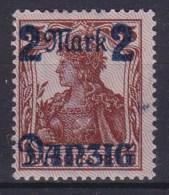 DANZIG 1920 Sc 28III Mint Hinged (lilac) - Danzig