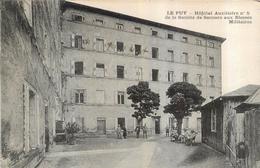 LE PUY HOPITAL AUXILIAIRE N°5 DE LA SOCIETE DE SECOURS AUX BLESSES MILITAIRES - Le Puy En Velay