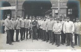 PARIS -  Ecole Centrale,la Lunette De Batterie. - Enseignement, Ecoles Et Universités