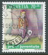 1999 SVIZZERA USATO PRO JUVENTUTE 70+35 CENT - CZ13-8 - Usati