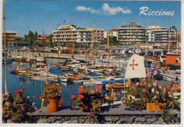 RICCIONE - Darsena; Darse, Dock,    1974 - Rimini