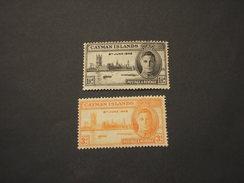 CAYMAN - 1946 VITTORIA  2 VALORI - NUOVI(++) - Cayman (Isole)