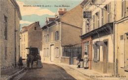 78 - LES YVELINES / Mesnil Le Roi - Rue De Maisons - Beau Cliché Animé - Carte Toilée Et Colorisée - Frankreich
