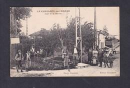Belle Carte La Chaussee Sur Marne (51) - Cafe De La Marine ( Animée Ed. Grandprat ) - France