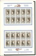 DT 802 -- Série Belgica 1972 - 9 Valeurs En Feuilles Complètes De 20 Timbres - Prix D'Emission 2000 FB - Feuilles Complètes
