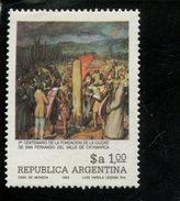441141292 ARGENTINIE DB 1983 POSTFRIS MINTNEVER HINGED POSTFRIS NEUF YVERT 1370 - Argentinien