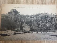 CPA LABEAUME Ardèche Le Pont Le Vieux Chateau - France