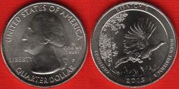 """USA Quarter (1/4 Dollar) 2015 P Mint """"Kisatchie"""" UNC - 2010-...: National Parks"""