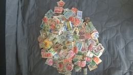 + 1200 Timbres Du Monde Dont Environs 1000 Des Possessions Britanniques - Vrac (min 1000 Timbres)