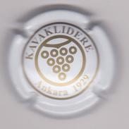 Capsule Mousseux ( KAVAKLIDERE - ANKARA 1929 . Fabriquée En Turquie , Blanc Et Or ) {S15-17} - Champagne
