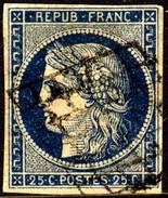 03145 França 4 Ceres Cb. Grade De 1849 U - 1849-1850 Ceres