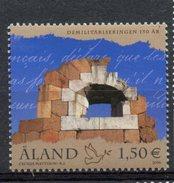 Alan Islands 2006 1.50 Euro Demilitarization Ol Aland.issue #246 MNH - Aland