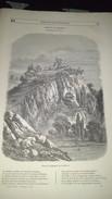 Affiche (gravure) - Ruines Du Château De DOMFRONT Dans L'ORNE - Affiches