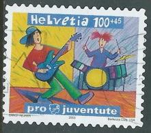 2003 SVIZZERA USATO PRO JUVENTUTE 100+45 CENT - CZ14-2 - Switzerland