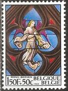 Belgique - 1969 - Mons, église Sainte Waudru - YT 1519 Oblitéré - Vetri & Vetrate