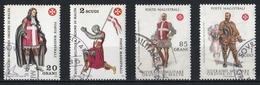 Ordre De Malte 1969 à 1974 : Timbres Yvert & Tellier N° 168 - 170 - 230 Et 233 - Malte (Ordre De)