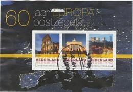 Pays-Bas 2016. Bloc Idée Européenne. Italie (Rome), Allemagne (Berlin), Luxembourg (Kirchberg) - Europäischer Gedanke