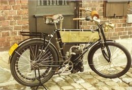 MOTO  ---    FN  Monocylindre 185 Cm3  1903 à Courroie Transmission De Villebrequin à La Roue Arrière Sans Intermédiaire - Altri