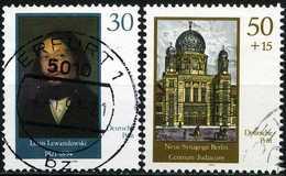 DDR - Michel 3358 / 3359 - OO Gestempelt (B) - Wiederaufbau Der Neuen Synagoge Berlin - Oblitérés