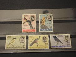 ETHIOPIA  - P.A. 1963 UCCELLI  5 VALORI - NUOVO(++) - Etiopia