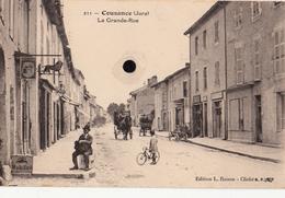 COUSANCE  - La Grande-Rue - France