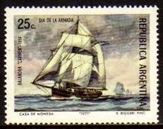 00797 Argentina 0898 Dia Da Marinha Barco Nnn - Argentine