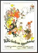 Carte Postale : Illustration Dubout (cinéma Affiche Film) Toto Cherche Un Appartement - Affiches Sur Carte