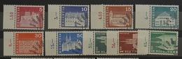 Schweiz Set.878/886**/O.Gummierte.siehe Scan - Used Stamps