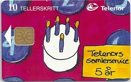Norway - Telenor - Telenors Samlerservice - P-22 - 08.1998, 1.200ex, Mint (check Photos!) - Norvège