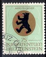 (A2) Liechtenstein 1970 -  Coats Of Arms