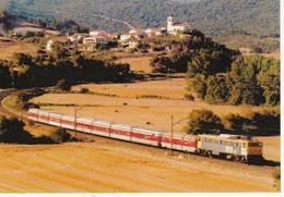 CPM  LOCOMOTORA ELECTRICA 269.916.  Pais: ESPANA N° 935 EUROFER-AMICS DEL FERROCARRIL - Trenes