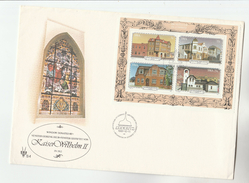 1981 SWA FDC Miniature Sheet ARCHITECTURE Stamps Cover South West Africa - South West Africa (1923-1990)