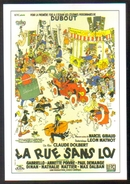 Carte Postale : Illustration Dubout (cinéma Affiche Film) La Rue Sans Loi - Affiches Sur Carte