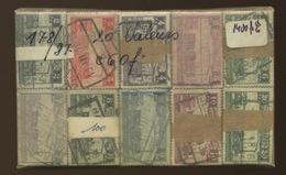 100 X Séries Courtes De 20 Valeurs Centenaire Des Ch De Fer De Belgique  Cote 800 E - 1923-1941