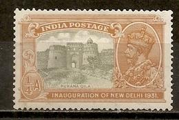 Inde India 1931 Fortress M * - India (...-1947)