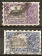 Inde India 1935 Silver Jubilee Obl - 1936-47 Roi Georges VI