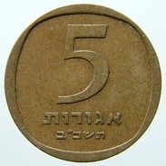 1962 - Israel 5 Agorot - (year 5722 - Large Date) - KM# 25 - - Israele