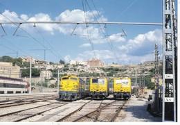 CPM LOCOTOMORAS Serie 447, 316 Et 250.  Pais: ESPANA N° 941 EUROFER-AMICS DEL FERROCARRIL - Trenes