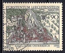 (A2) Liechtenstein 1996 - The 1000th Anniversary Of Austria - Liechtenstein