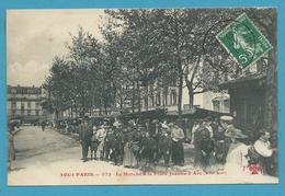 CPA TOUT PARIS 972 - Le Marché à La Place Jeanne-d'Arc (XIIIème Arrt.) Edition FLEURY - District 13