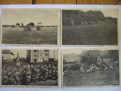 Camp Du Valdahon Lot De 4 Cpa - Unclassified