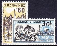 ** Tchécoslovaquie 1962 Mi 1362-3 (Yv 1236-7), (MNH) - Unused Stamps