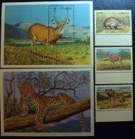 Ghana 1994 SC 1678-1682 MNH Animals - Ghana (1957-...)