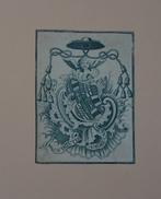 Ex-libris Héraldique Belge ? XVIIIème - CANO - Ex Libris