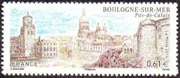 France N° 4862 ** Boulogne-sur-mer - La Citadelle, Le Château-musée, La Basilique Notre-Dame - Nuevos