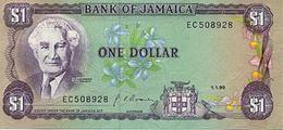 Billet JAMAIQUE  1 DOLLAR - Jamaique