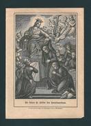 Incisione: L'AMORE DEI SERVI DI MARIA  -   E - RB - Mm. 95 X 135 - ED. BENZIGER EINSLEDELN - Godsdienst & Esoterisme