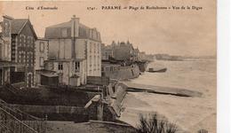 Paramé.. La Plage De Rochebonne Vue De La Digue - Parame