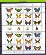 Ndr1227BPc FAUNA VLINDERS BUTTERFLIES SCHMETTERLINGE MARIPOSAS PAPILLONS SURINAME 2004 PF/MNH - Vlinders