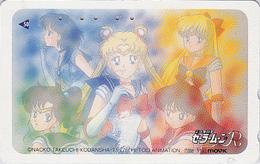 Télécarte Japon / 110-011 - MANGA -  SAILORMOON By NAOKO TAKEUCHI - ANIME Japan Phonecard - 7775 - Comics